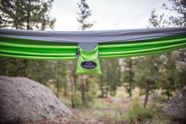 Apache Madera Hammocks Green with case to carry hammock