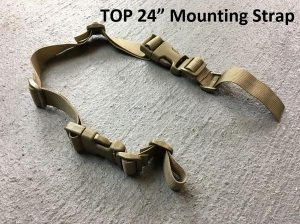 Top mounting strap 24 inches