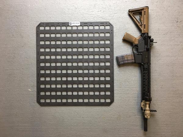 Gun Safe Molle Panel