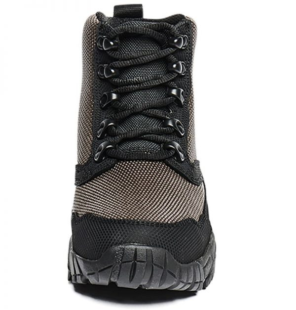 Hiking Boots 6 inch, front and laces Altai gear