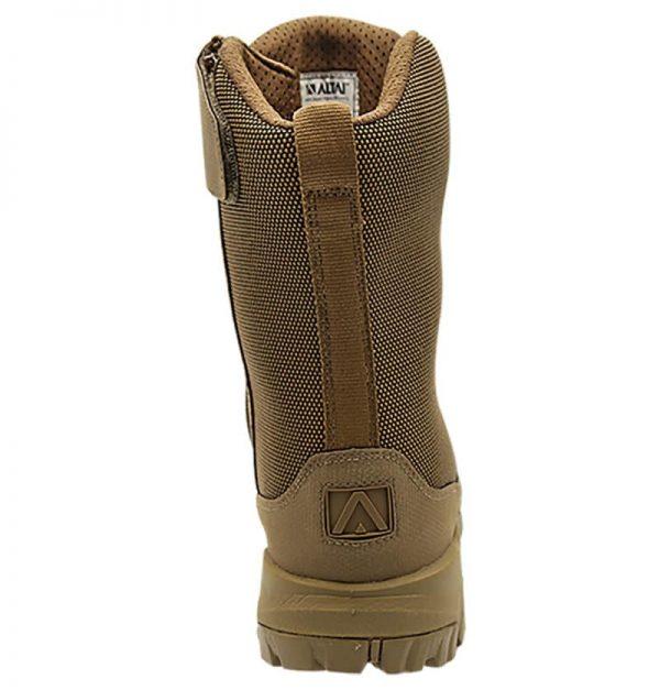 """Zip up hunting boots 8"""" brown heel altai Gear"""