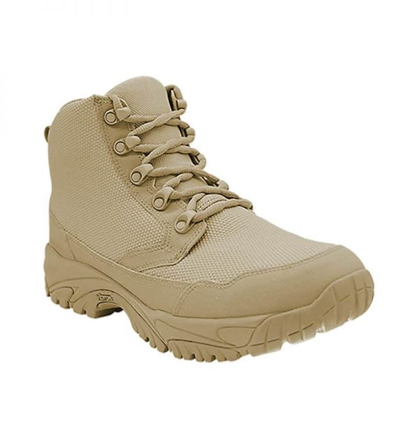 "Zip up work boots 6"" tan outer toe altai Gear"