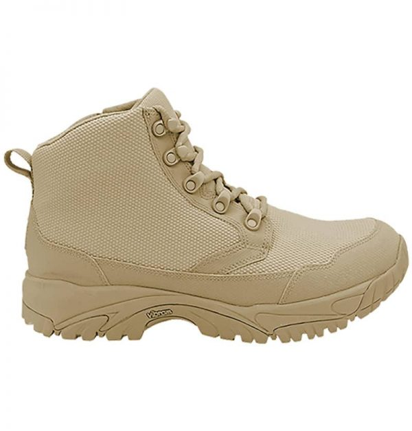 "Zip up work boots 6"" tan outer side altai Gear"