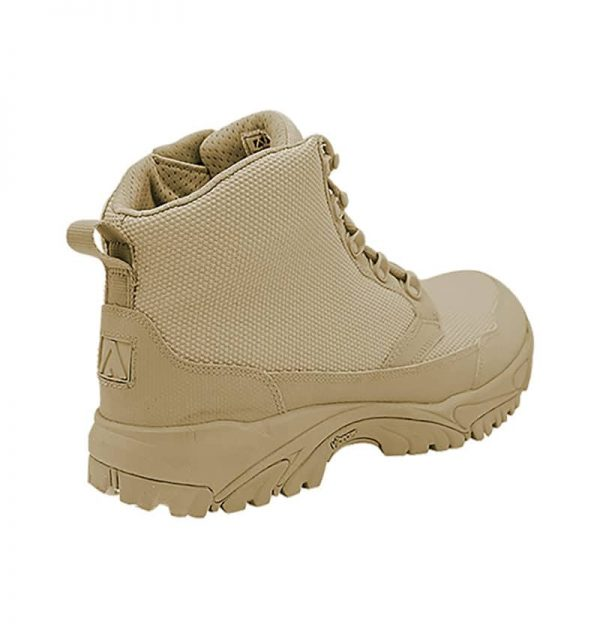 "Zip up work boots 6"" tan outer heel altai Gear"