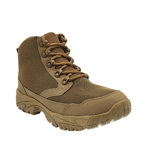 """Zip up hiking boots 6"""" Brown outer toe with laces altai Gear"""