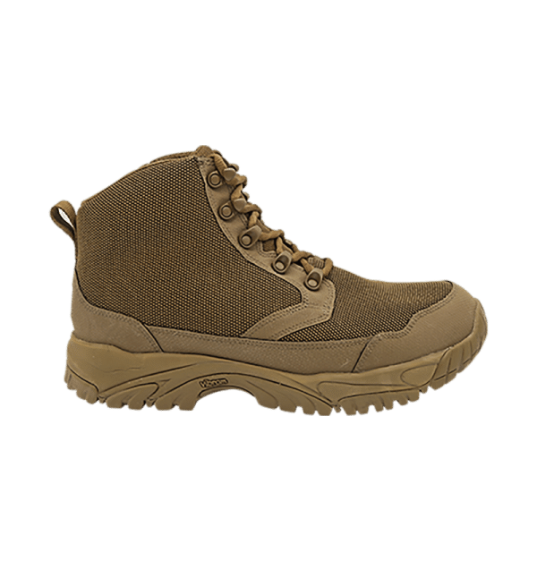 """Zip up hiking boots 6"""" Brown outer side altai Gear"""