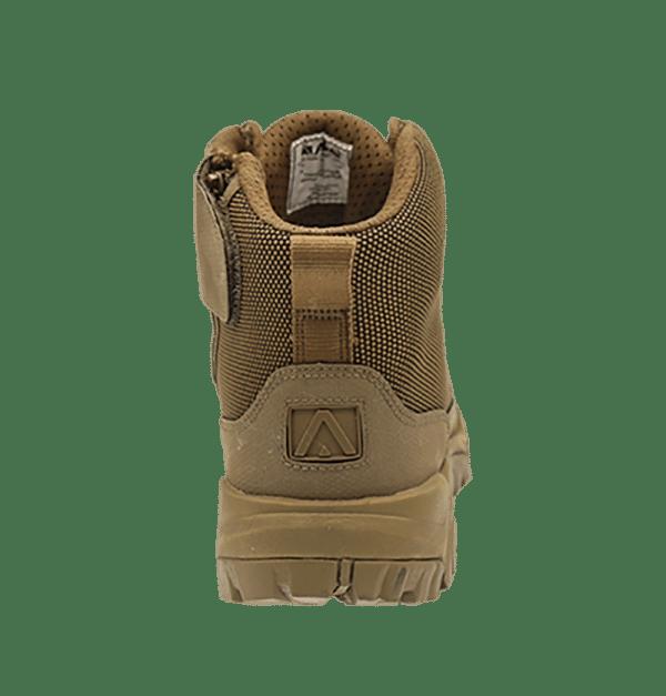 """Zip up hiking boots 6"""" Brown heel altai Gear"""