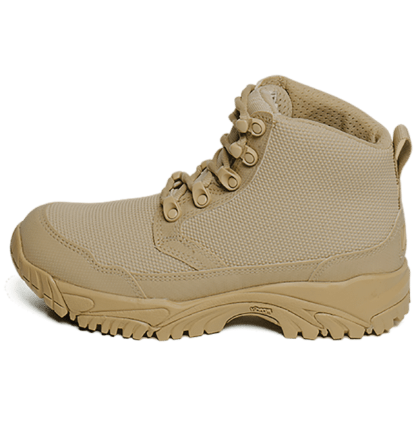 "Work Boots tan 6"" outer Side Altai gear"