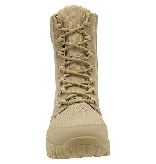 """Zip up combat boots 8"""" tan front laces altai Gear"""