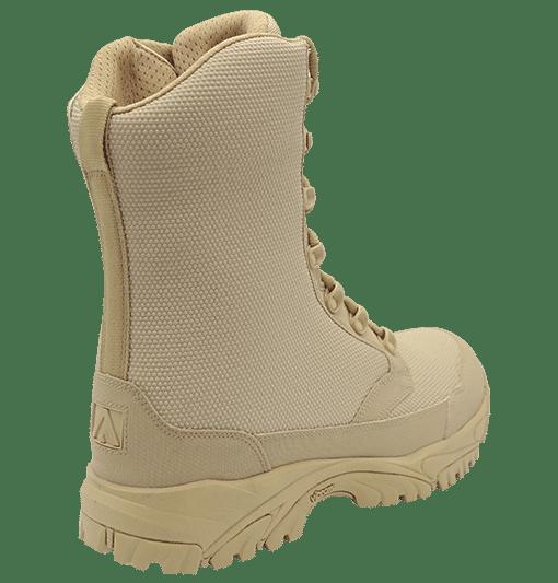 "Zip up combat boots 8"" tan outer heel altai Gear"
