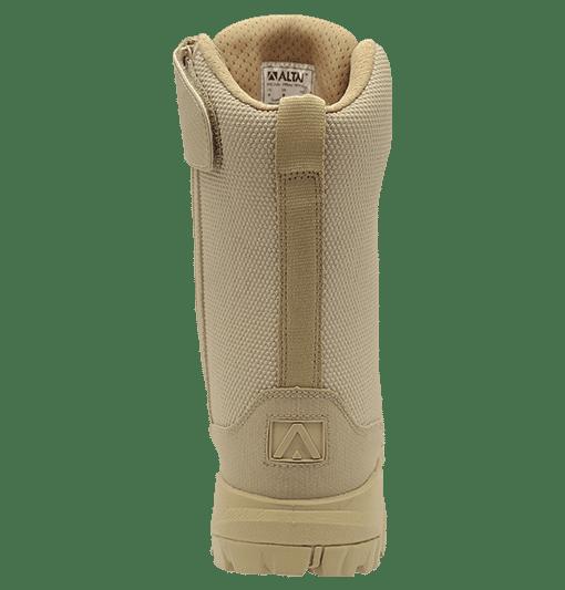 """Zip up combat boots 8"""" tan heel altai Gear"""