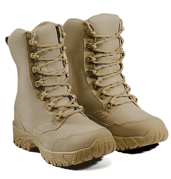 Combat Boots Front lace Altai gear tan in color