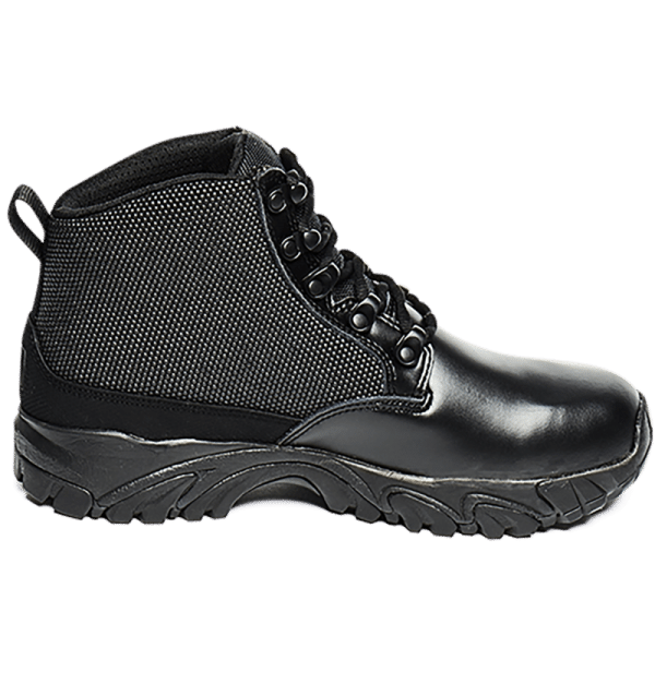 Uniform Boots Black leather outer side Altai gear