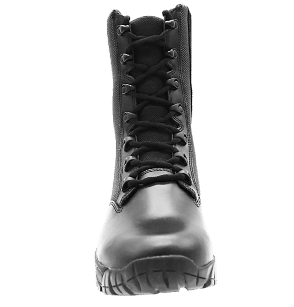 "Side Zip black tactical boots 8"" front laces altai Gear"