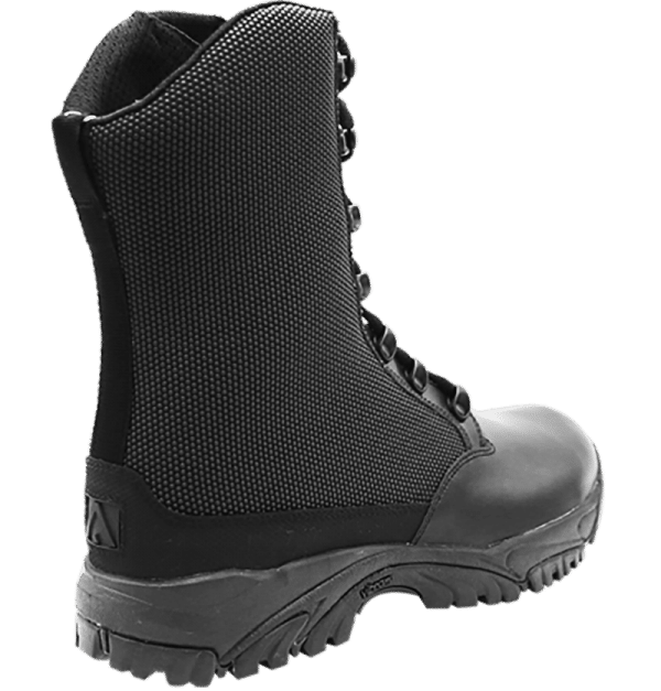 "Side Zip black tactical boots 8"" black outer heel altai Gear"