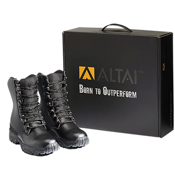 Leather Tactical Boots with package Altai gear