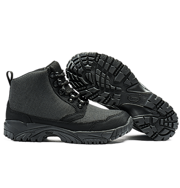 "6"" Tactical Boots Black sole and side view Altai gear"