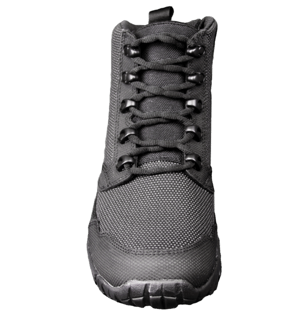 "Black Zip up tactical boots 6"" front laces altai Gear"
