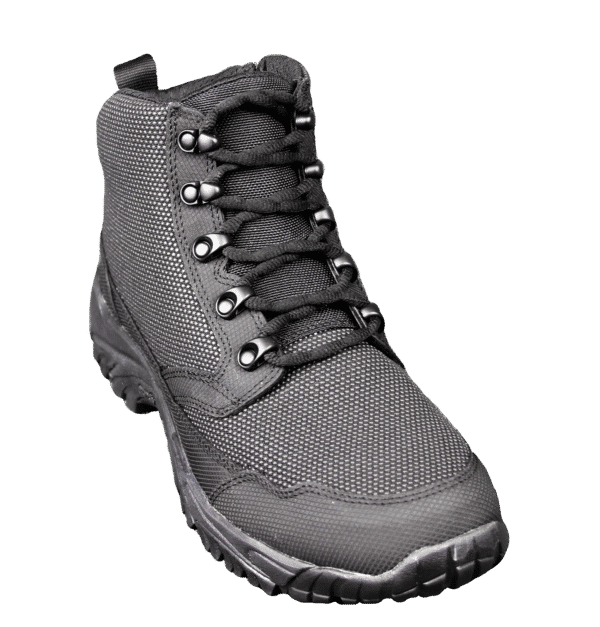 "Black Zip up tactical boots 6"" outer toe altai Gear"