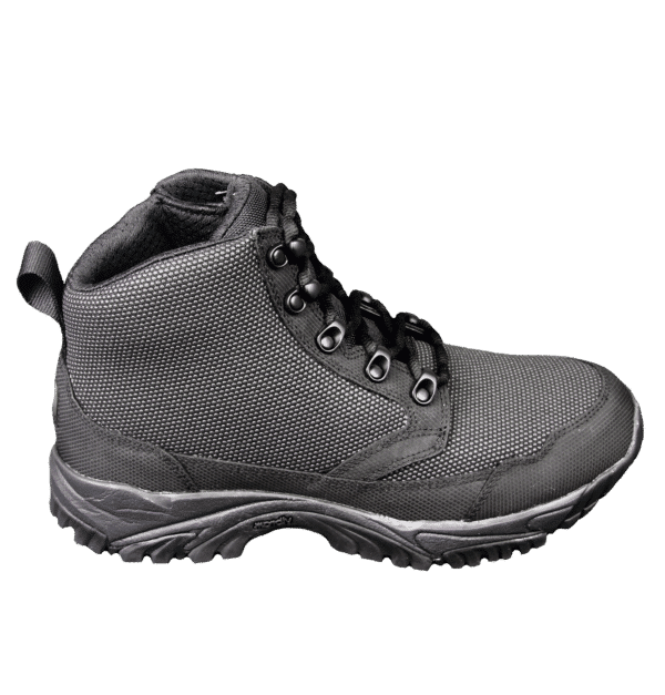 "Black Zip up tactical boots 6"" outer side altai Gear"