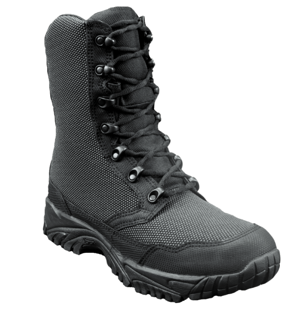 "Zip up tactical boots 8"" black outer toe altai Gear"
