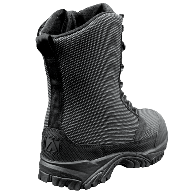 "Zip up tactical boots 8"" black outer heel altai Gear"