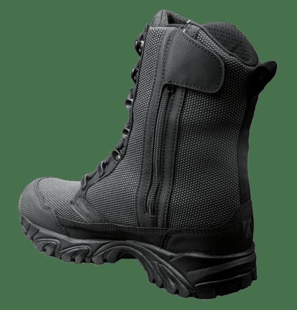 """Zip up tactical boots 8"""" black inner heel altai Gear"""