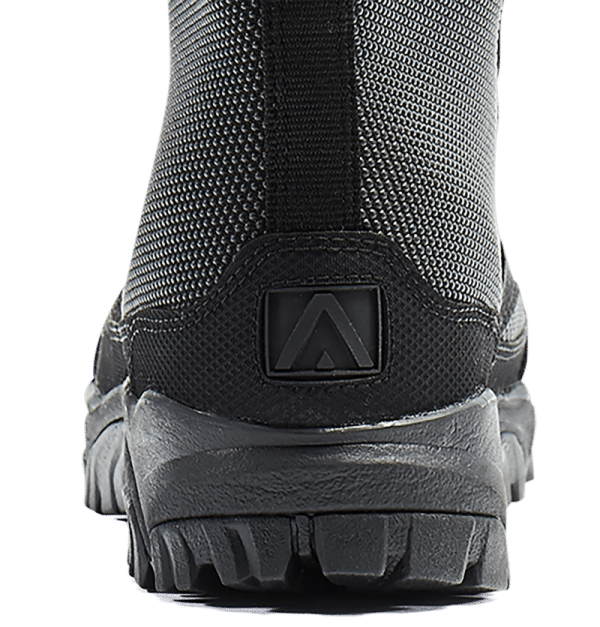 Tactical Boots Black heel and logo Altai
