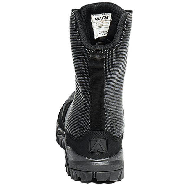 Tactical Boots whole heel view Altai gear