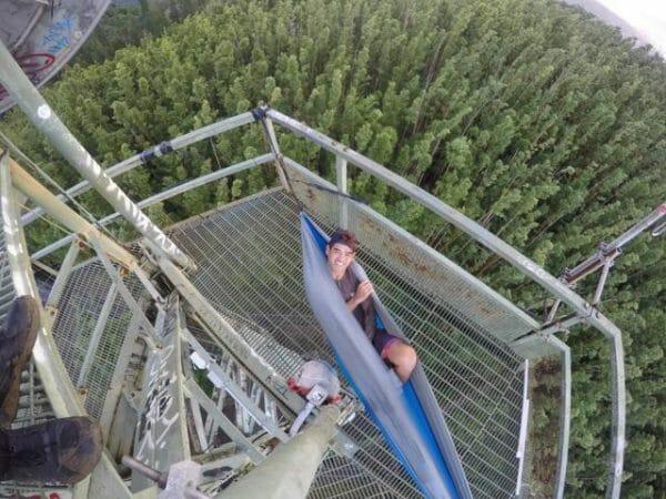 Beluga Madera Hammocks Grey on tower
