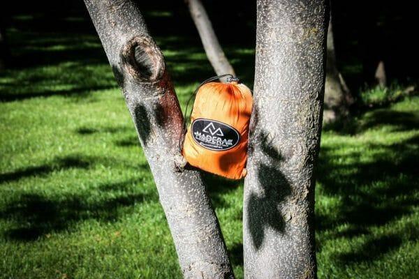 Ember Madera Hammocks grey and orange package