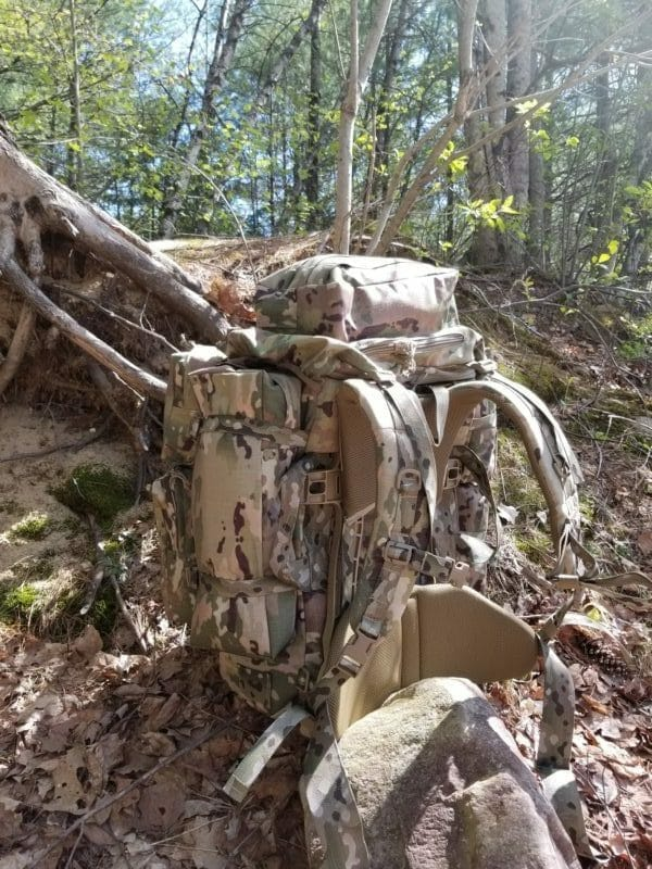 Long Range ruck outside straps and pads