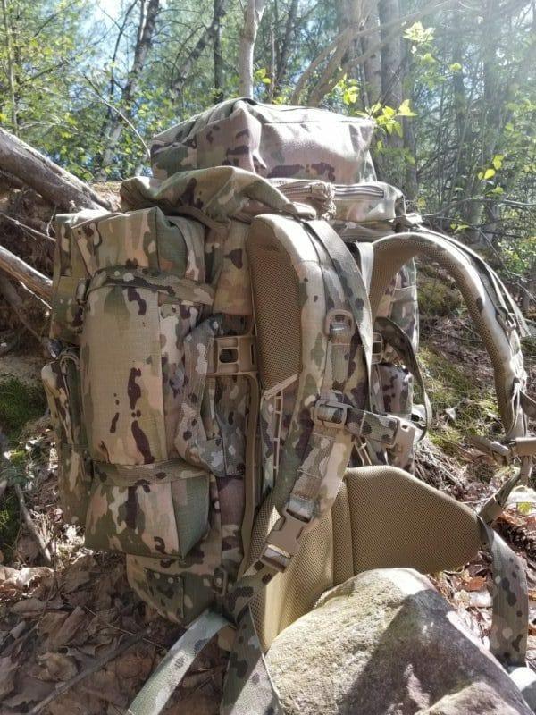Long Range Ruck Sack Side