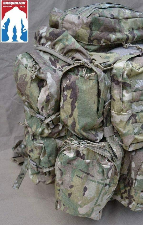 Long Range ruck Sack pockets