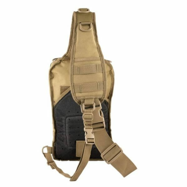 Rover sling pack front coyote brown