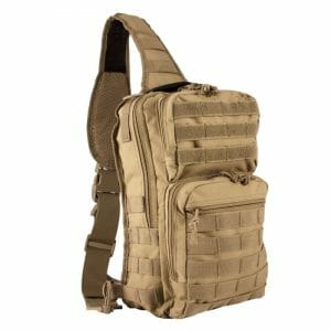 Rover sling pack coyote brown