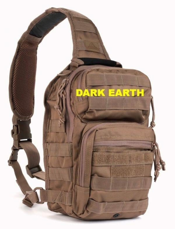 Rover sling pack dark earth