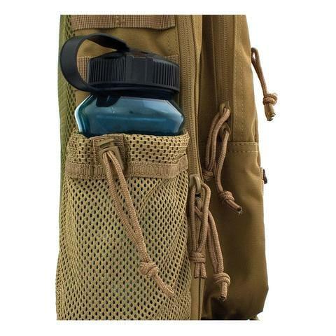 Summit Backpack water bottle on side