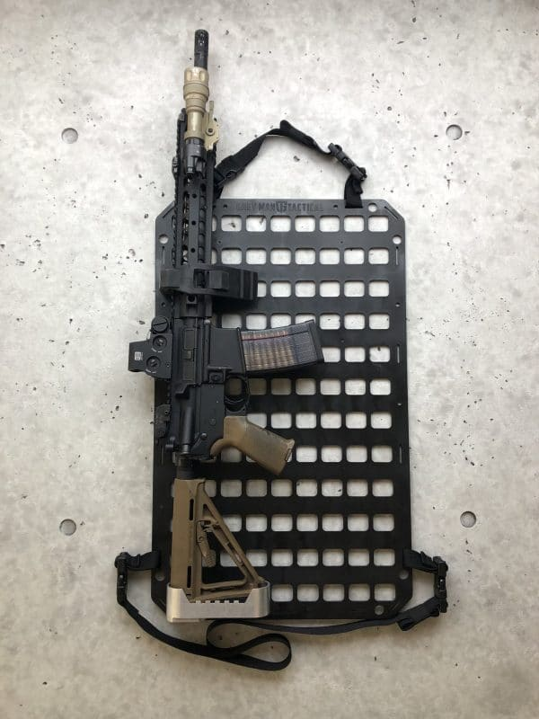 rifle mount molle panel