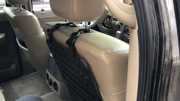 head rest mount for tactical molle panel