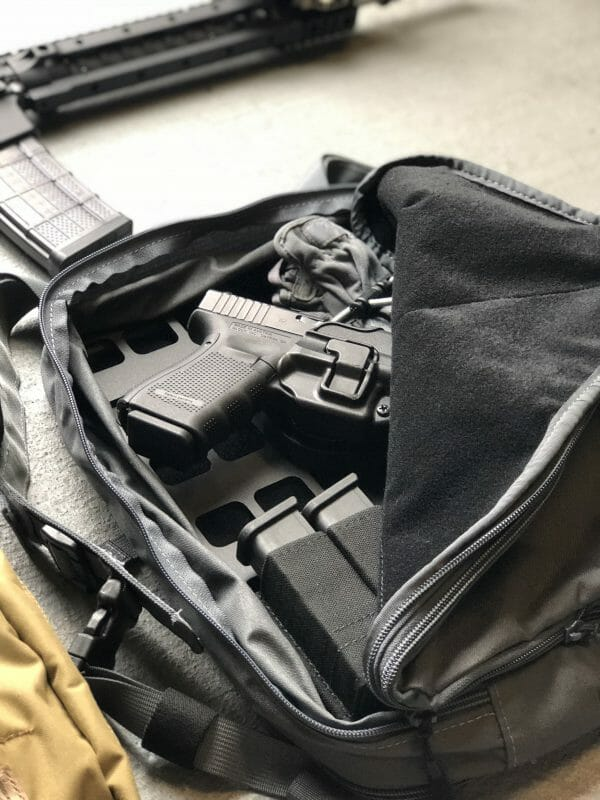 10 x 14 inches rmp molle panel for backpack pistol set up EDC