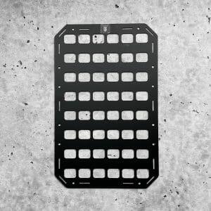 10.75 x 17 RMPX Aluminum black Molle panel