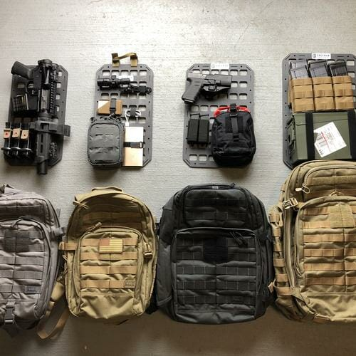 12.25 X 19 RMP™ Backpack Insert molle panel 4 sets of ideas