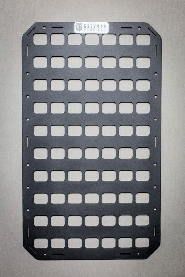 12.25 X 21 RMP molle panel backpack insert just the panel