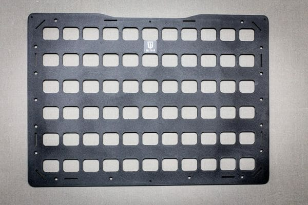 18.5 x 13.125 rmp molle panel for pelican cases just the panel