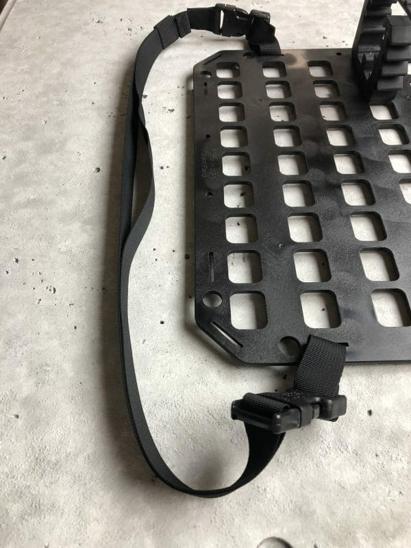 24 inch strap for molle panel on molle panel
