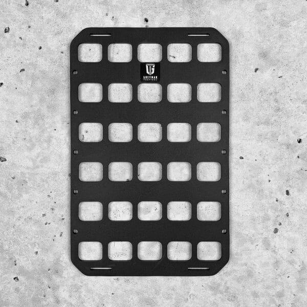 8 X 12.5 RMP molle panel insert for back pack edc