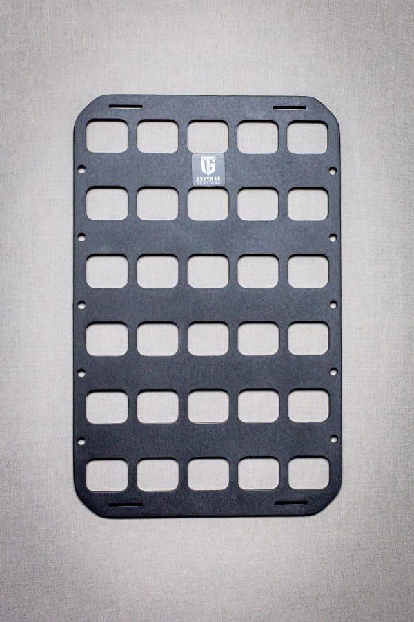 8 X 12.5 RMP molle panel insert for back pack edc panel