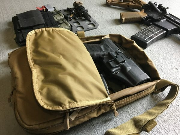 8 X 12.5 RMP molle panel insert for back pack edc with pistols'