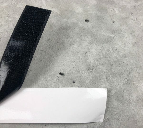 Adhesive Backed Width Low Profile Hook velcro (2)